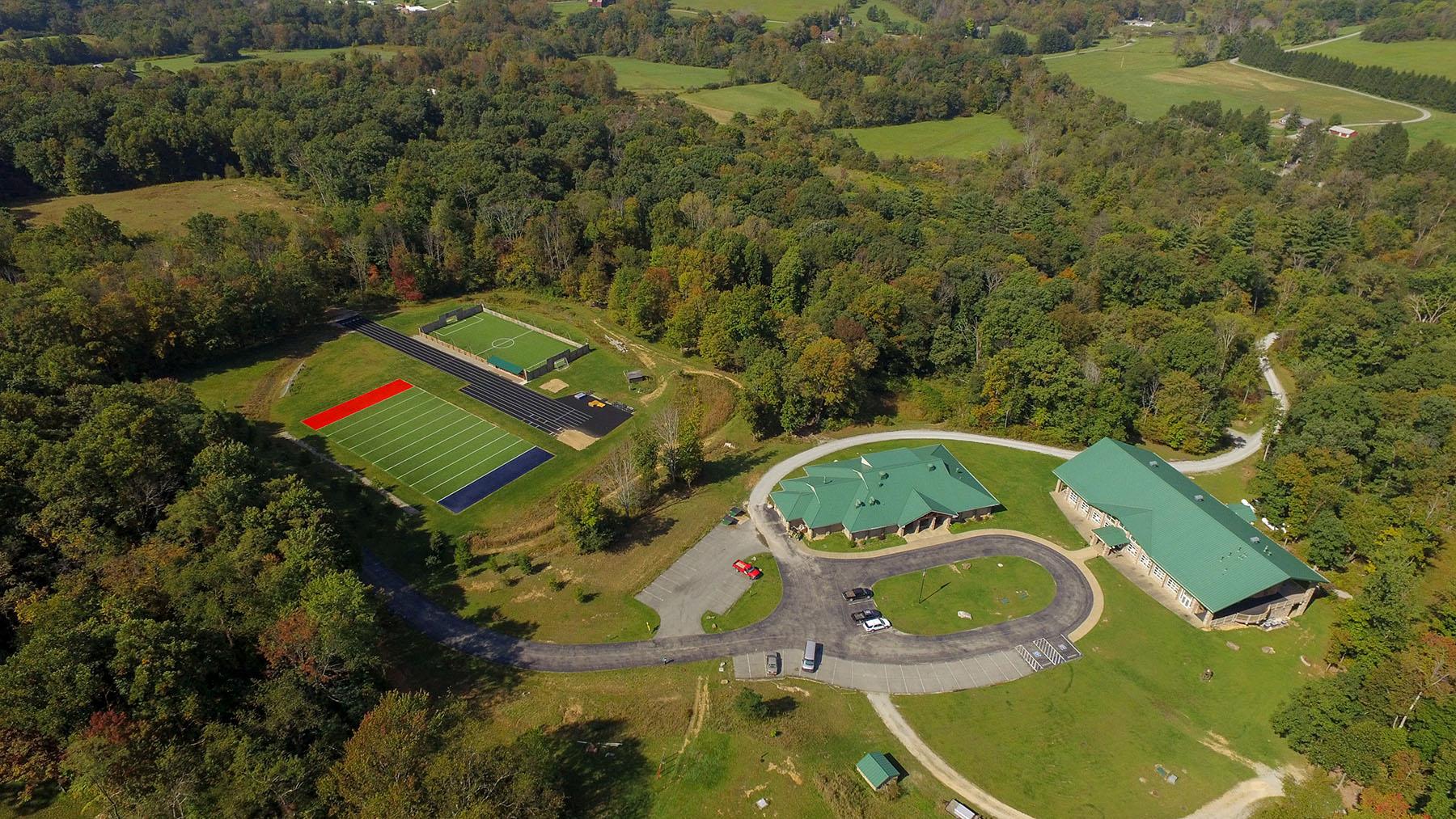 Camp Aerial View